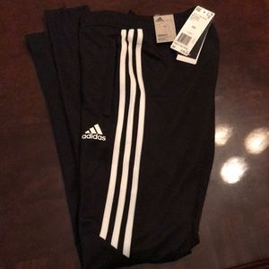 Adidas tapered fit track pants
